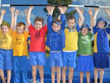 Young athletes jumped, threw and ran their little hearts out at the Murgon Athletics Carnival.
