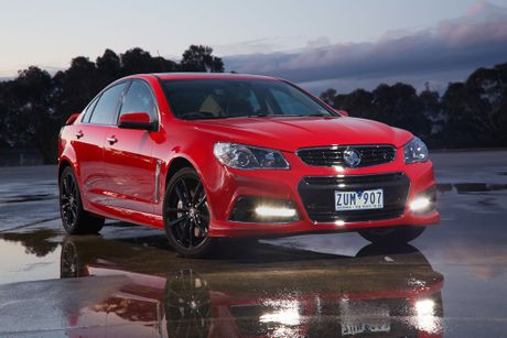 The Holden VF Commodore SS-V Redline.