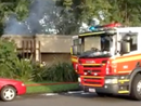 Mooloolaba house goes up in flames