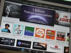 LAUNCHED in 2005 on iTunes, Apple's podcasts have now racked up 1 billion subscriptions.
