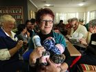 Sue Gibbens and the Settlers Crochet Group. Photo Inga Williams / The Satellite