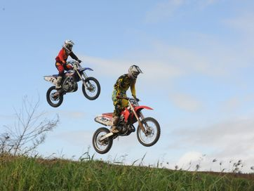 Competitiors hit out at the weekends motorcross event.