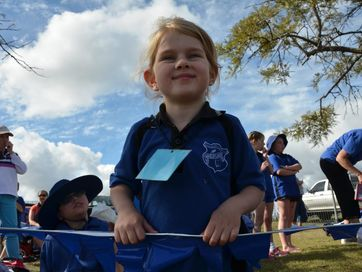 Cloyna State School, Moffatdale State School, Windera State School and Wheatlands State School students compete for inter-school athletic supremacy.