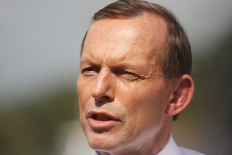 LNP leader Tony Abbott.