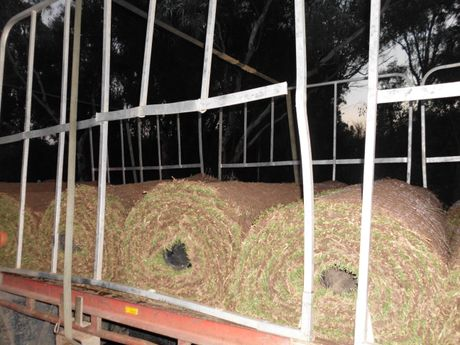 Police in Sydney found this unrestrained load during Operation Steel 4.