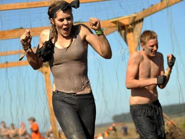 Thousands got down and dirty as they did the hard yards in the Sunshine Coast Tough Mudder.