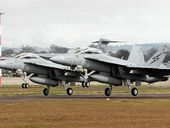 RESIDENTS across the Darling Downs were given a jump when Super Hornet jets from RAAF Base Amberley conducted training in airspace over the Toowoomba region.