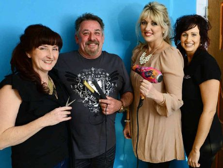 TOP TEAM: Rob-Elle Hair Designers owners Elle and Robert Farmer (left), hairdresser Lisa Moore, and Lilac Rose Skin and Beauty owner Lauren Zeidler (right).