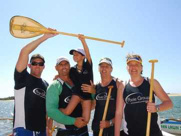 The Wishlist Foundation Outrigger Challenge at Cotton Tree.