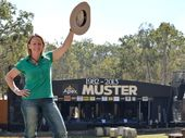 Local lass Mel Davis - hats off for this year's music muster.