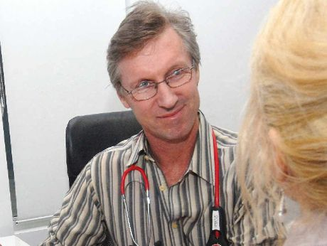 GETTING HEALTHIER: Dr John McIntosh says this year's flu season was mild.