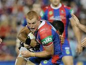 NEWCASTLE players will take the field against Cronulla tomorrow with injured teammate Alex McKinnon's name and playing number close to their hearts.