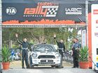 Coates Hire Rally Australia FIA World Rally Championship Round 10, Podium presentation, Brelsford Park: