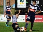 MELBOURNE Victory coach Ange Postecoglou has rated the A-League pre-season game at North Ipswich Reserve a waste of time because the field wasn't up to scratch.