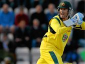 Australian skipper Michael Clarke scored 75 runs in the final one-dayer against England yesterday.