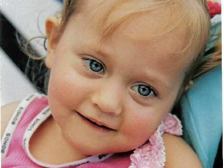 'ANGEL': Annette Saurine's daughter, Maddy, suffered from mitochondrial disease and died in 2005 just two weeks before her third birthday. Photo Contributed