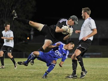 Images from the Football Far North Coast Premier League grand final between the Lismore Thistles and the Byron Bay Rams.