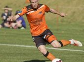 Brisbane Roar's Corey Brown.