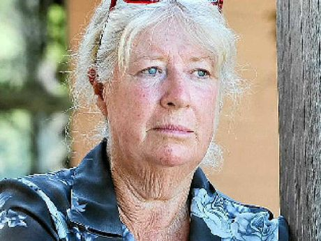 HURTING: Concerned mother Carol Punch is eager to find her daughter, believed to be living on the streets on the Sunshine Coast.