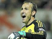 FOOTBALL: Mark Schwarzer starred for Chelsea in its Capital One Cup triumph at League One outfit Swindon Town.