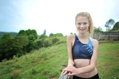 Marlie Campton, a promising athlete, is off to the world school cross-country championships in Israel next year.