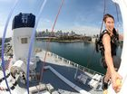 AUSTRALIA'S leading cruise line P&O Cruises has launched an adventure program with help from one of Hollywood's most sought after stunt actresses.
