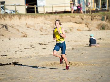 Woolgoolga community triathlon at Woolgoolga Beach.Gallery 2