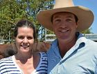 CHANGE OF SCENE: Jayde and Ben Chandler from Barcaldine relish a green change of scene on their bull-buying trip to the Southern Downs.
