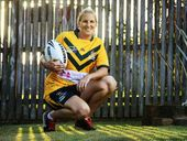 WORLD Cup-winning rugby league player Ali Brigginshaw heads to the NRL grand final this weekend knowing she's finally made it.
