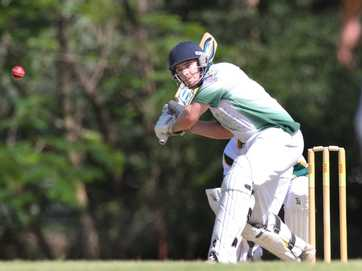 Action from the Rockhampton Cricket Grounds on Saturday 5 October 2013.   Photos CHRIS ISON