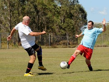 About 400 seasoned athletes did battle during the opening weekend of the Maryborough Masters Games, competing in eight different sports.