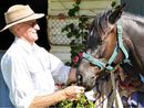 HIS love for ponies began when, as a young boy, Keith Robin would ride his pony to school at Talgai near Allora.