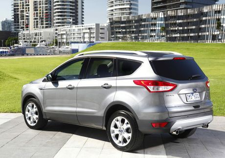 road test ford kuga claws are out in tough market gladstone observer. Black Bedroom Furniture Sets. Home Design Ideas