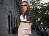 Victoria Beckham says her insecurities and shyness prompted her to create her Posh Spice persona.