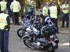 POLICE say they will take action against people breaking anti-bikie laws at Anzac ceremonies, but will carry out their duties with due respect for the day.