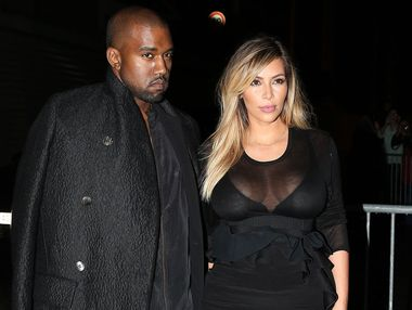 Kim Kardashian is reportedly engaged to Kanye West who proposed to her at AT&T; Park stadium in San Francisco in front of her friends and family.