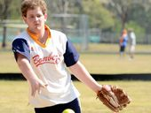 IF EARLY-season results are anything to go by, pitcher Beau Laing may be the Bombers Red's lucky charm in the men's A and B competition this summer.