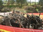 IN THE same week that the Bremer River received a slightly improved D- health rating, the council has taken to cleaning piles of debris out of Bundamba Creek.