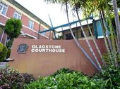 A GLADSTONE man has been fined after he ended up in someone else's shower, fully clothed, with no idea how he got there after a few too many drinks.