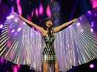 THERE'S no raining on Dami Im's parade.