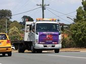 The Brisbane Convoy for Kids leaves Larapinta bound for Redcliffe on October 26. Photo Sean Owens / Big Rigs