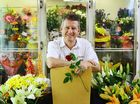 EVERYTHING'S coming up roses for Ipswich florist Peter Bellingham.