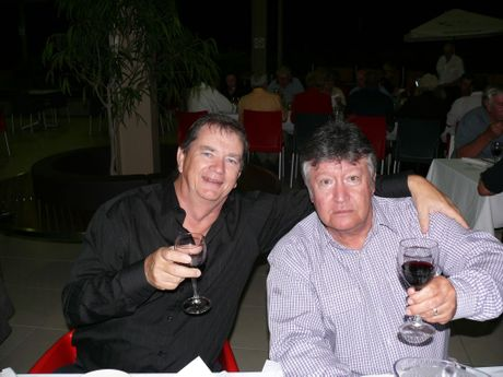 Lloyd Peers and Joe Garvey. ls14/0910/7. Photo Lyn Stephens / Capricorn Coast Mirror