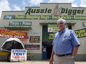 "NORTH Lismore business owner John Barnes says he's ""lost count"" of the number of scuffles he's had with thieves over the years, now his store has been hit again"