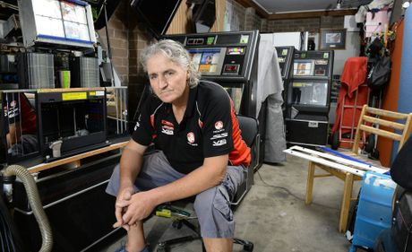 SUDDEN IMPACT: Chris Pattison talks about how the bikie crackdown has affected his jukebox business.