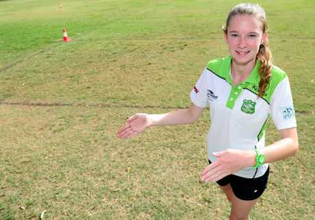 Kealie Pollett is on a Melbourne tour to referee at the national titles for touch football. Photo Sharyn O'Neill / The Morning Bulletin