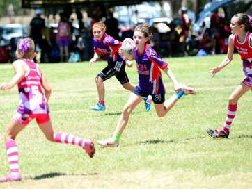 Red Rooster touch football carnival at Cyril Connell Touch Fields, Rockhampton, November 2 - 3, 2013.