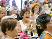 PUNTERS were out in force – and style – as Melbourne Cup fever hit Ipswich on Tuesday.