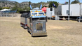 Little truck runs around the Big Banger truck show on November 9 at Lowood.