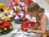 WITH poetry from the heart and crosses laid by little children,  the Sunshine Coast remembered 100,000 Australians who have died in war in the last 113 years.